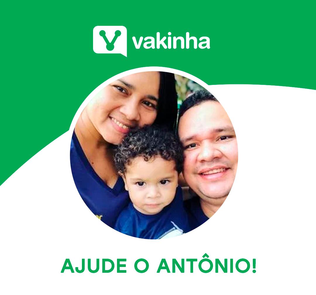 Ajude o Antônio Vakinha