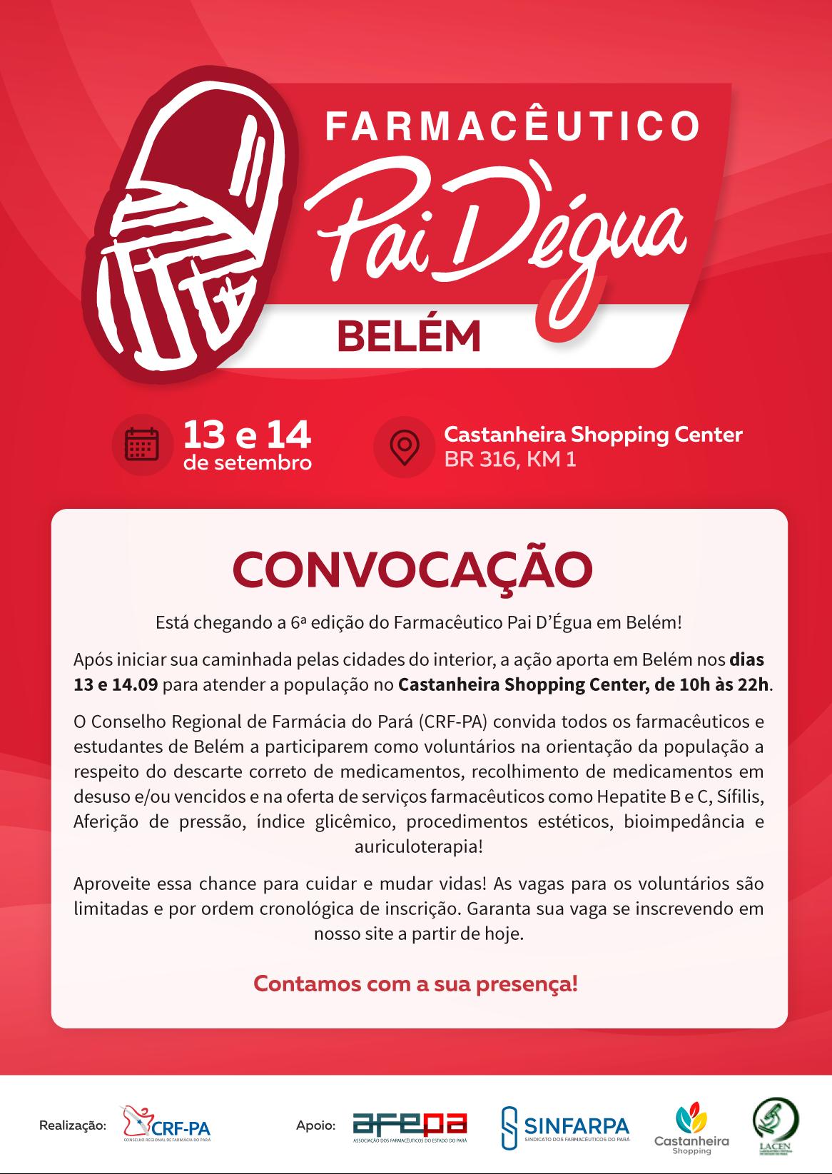 Farmacêutico Pai D'Égua em Belém